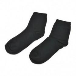 Fekete (hosszú) Férfi Bambuszrost harisnya Zokni Alkalmi toe Boot pamut üzleti munka zokni