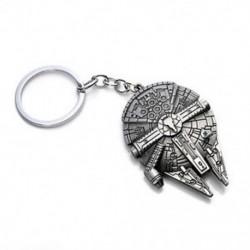 Millennium Falcon Csillagok háborúja Millenium Falcon Csillagmegőrző Fém kulcstartó gyűrű kulcstartó