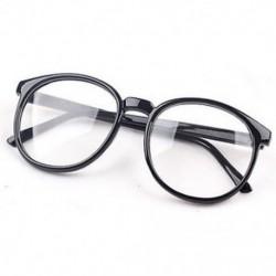 Fekete Divat világos kerek lencse szemüveg keret retro férfi nők unisex majom szemüveg