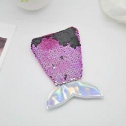 Rózsavörös Kids Mermaid Tail Crossbody táskák lányok érme erszényes pénztárca kártya tartó tárolás