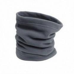 szürke 3 in 1 SNOOD Thermal Fleece sál nyak téli melegítő arc maszk Beanie kalap