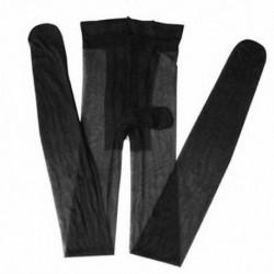Fekete Szexi férfiak szoros harisnyanadrág Stretch ujjú köpeny harisnya első nyitott fehérnemű JP