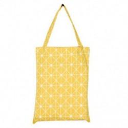Sárga Vászon tér Csillag táskák Eco Messenger táska Bevásárló táska Váll Tote Satchel