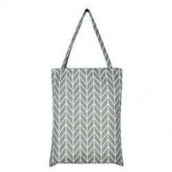 szürke Vászon tér Csillag táskák Eco Messenger táska Bevásárló táska Váll Tote Satchel