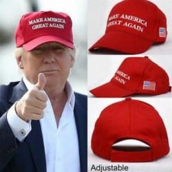 Piros elnök Donald Trump Make Amerika nagyszerűen ismét kalap MAGA US republikánus sapka