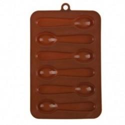 6 adagos Kanál alakú szilikon csokoládéforma - fondant forma - K0R3