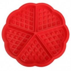 Család szilikon ostya formázókészülék mikrohullámú sütés sütemény muffin B U3X6 sütemény