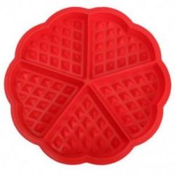 Család szilikon ostya formázókészülék mikrohullámú sütés sütemény muffin B E3L5