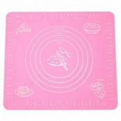 1X (Mat szilikonfólia színű, rózsaszínű, újrafelhasználható, konyhai sütőipari tészta C4H3)