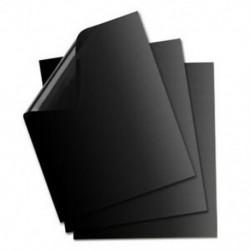 3db Fekete - Tapadásmentes grill sütőlap - BBQ - Kerti sütögetéshez - H4C4