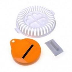 USA műanyag DIY burgonya chips vega asztal szeletelő ropogós mikrohullámú W4G0