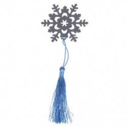 1X (ezüst CROSS hópehely szív BOOKMARK BAB CHRISTENING AJÁNDÉK CUTE XMAS GI U7F8