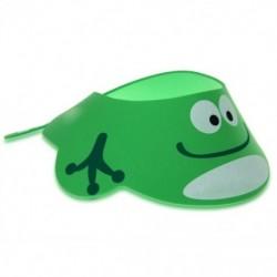 y Gyerek kisgyermek kádfürdő zuhany sapka sapka mosás haj sampon pajzs állítható zöld J7E5