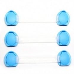 1X (3 db-os ajtócsukók szekrényes hűtőszekrény biztonsági övezete gyerekeknek készült babákhoz V5E2)