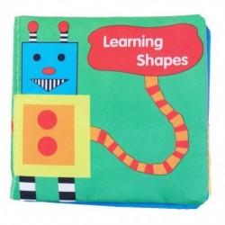 Intelligencia fejlesztés Cloth Fabric Cognize Book oktatójáték a Kid K7M4 készülékhez