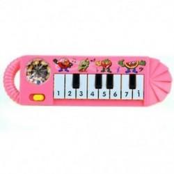 1 db hasznos 0-7 éves baba gyerekek népszerű aranyos játék zongora Zenefejlesztő V4Q6