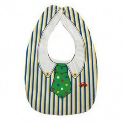 Kétoldalas rajzfilm csat baba karkötő száj törölköző csíkos zöld pont nyakkendő R0M5