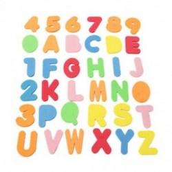 36 darab / betűkészlet alfanumerikus betűk Fürdőrakós játékok Eva játékok Babajátékok Chil Y6Z6