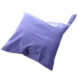 Vízálló cipzáras zseb, mosható, újrafelhasználható, Baby Cloth pelenkazsák, lila E0D5