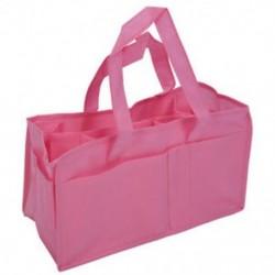 Rózsaszín baba fiú lány pelenka pelenka anya táska hordozható kézitáska C5S9