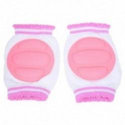 2X (csecsemő totyogó csecsemő térdvédő csúszó biztonsági védőcsomag rózsaszín N8F3)