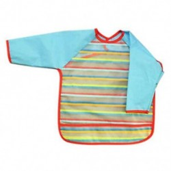 1X (Vízálló, hosszú ujjú ruha etetés kisgyermekkéknek T8Z1)