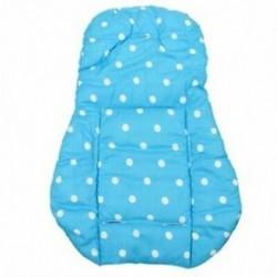 Vastag csecsemő babakocsi babakocsi autó ülés háttámla párna pamut takaró szőnyeg kék F8A3