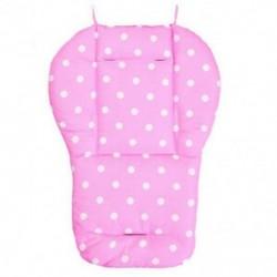 Rózsaszín - Vastag baba csecsemő babakocsi autó ülés háttámla párna pamut takaró szőnyeg BEB