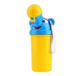 1X (aranyos kisfiú hordozható piszoár utazási autó-WC gyerekeknek járművek Potty P9I4)