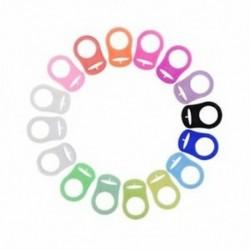 1X (szilikon cumi bilincs csatolt többszínű cumi gyűrű M1P8)