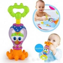 Vicces babafürdős játékok Műanyag vízpisztoly rajzfilm Octopus Pool fürdőszoba játékok C H7D2