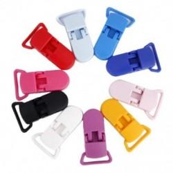 40 db cumi csipesz harisnyatartó műanyag klip többszínű I8V3