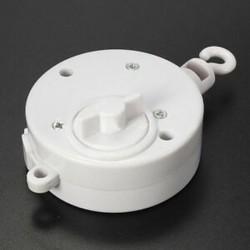 Fehér 4db-os kiságy kisgyermekes mobiltelefon csengő játéktartó   Wind-up Music Box AJÁNDÉK