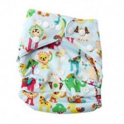 3X (Baby Piaper Cloth pelenka nadrág felett, nadrágon állítható edző Returnab I2O9