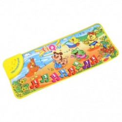 YiQu zenei szőnyeg szőnyeg szőnyeg szőnyeg kisgyermekeknek - állatoknak, tánc babazene ca F3P0