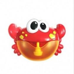 Gyerek buborékfürdő társ, boldog buborékbőr rák, zenebuborék-mach D5O6