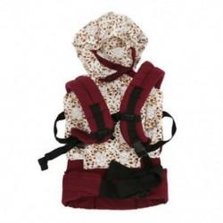 3X (pamut bébihordozó csecsemő kényelmes hátizsák csatjának hevedercsomagolás divat Fu T8O9