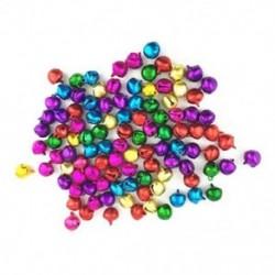 50 db véletlenszerű színes kézműves készletek és kellékek karácsonyi Jingle Bells / Small Be F1T1