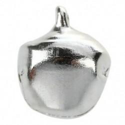 2X (20 db karácsonyi hangjelző csengő, 10 mm-es ezüst hangszín N7K5)
