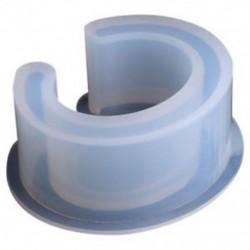 Új nyitott mandzsetta szilikon forma ékszerek készítése karkötő karkötő formája a gyanta A2V4