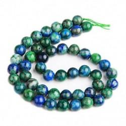 0,3 hüvelykes Chrysocolla Lapis Lazuli kerek drágakő drágakő drága HOT M8R6