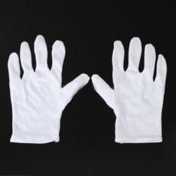 Fehér pamut kesztyűk antisztatikus kesztyűk
