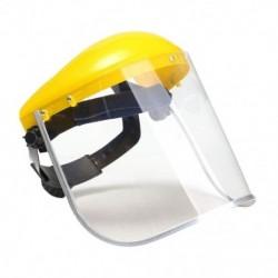 1x átlátszó biztonsági köszörülésű arcvédő képernyőmaszk látók számára. Eye Face Protec F8M1