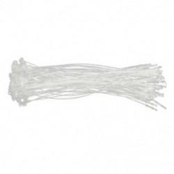 1X (500 x műanyag párnaápolási címke ruhamosó ár Transpa O3D1 műanyag kötél