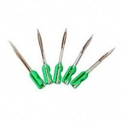 Zöld ruhanemű fecskendővel ellátott acél tűk (5 db egy dobozban) Q9Z8