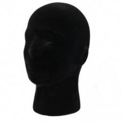 1X (férfi sztereo hab hab manöken próbabábu fej modell parókák szemüveg kupak Displa I4Y8