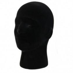 2X (férfi habszivacs hab manöken próbabábu fej modell parókák szemüveg kupak Displa Q0M4