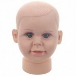 Gyerekek manöken baba babák kirakatba babák fej sapka szemüveg W8Q1