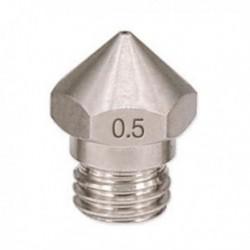 1 db új érkezési 3D nyomtató, M7 rozsdamentes acél MK10 fúvóka, 0,5 mm, 1,75 mm A0M1