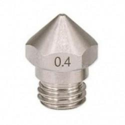 4X (1 db új érkezési 3D nyomtató, M7 rozsdamentes acél MK10 fúvóka, 0,4 mm, 1,75Q5B8